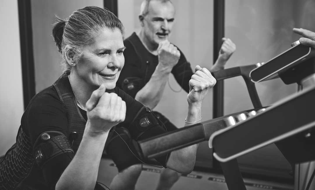 EMS training workouts for seniors